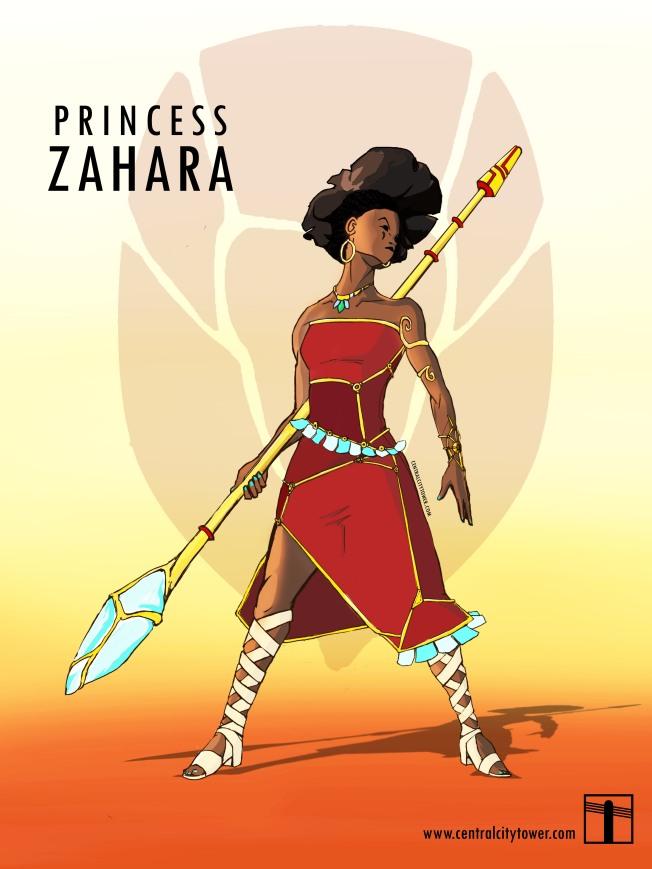 Spider-Stories-Princess-Zahara