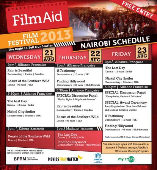 film aid programme