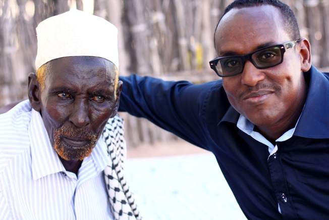 Mohammed-Adow-right-with-his-father