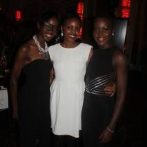 (L to R) Janet from CoolOnDemand/FashionDemocracy, myself and Lupita Nyong'o Photo Credit: CoolOnDemand/FashionDemocracy