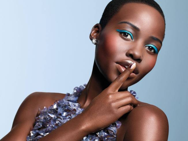 Lupita Nyong'o as she appears in the March Hollywood issue of Essence Magazine.