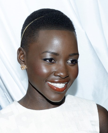 Lupita attends the 7th Annual Essence Online Black Women In Hollywood Luncheon where she was awarded the Best Breakout Performance Of The Year on Feb 27, 2014