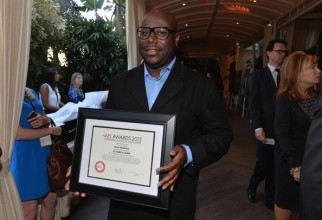 Honoree Steve McQueen attends the 14th annual AFI Awards Luncheon. 12 Years a Slave was chosen as one of ten best films of 2013.