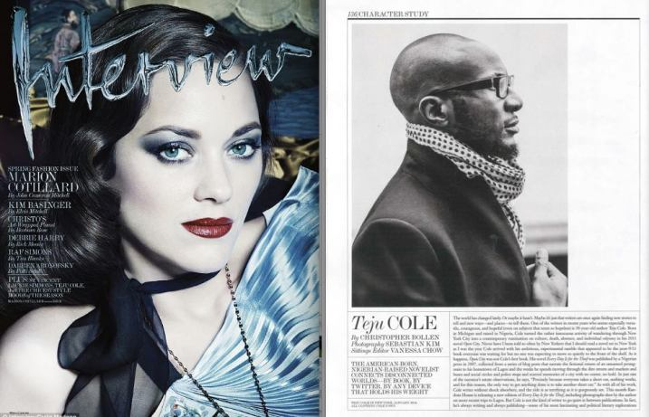 Teju cole interview mag