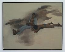 """Lynette Yiadom-Boakye, """"Metaphysic,"""" 2012 (oil on canvas)."""