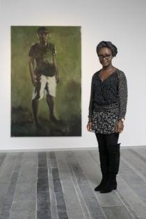 Lynette Yiadom-Boakye winner of te 2012 Future Generation Art Prize.