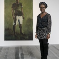 Lynette Yiadom-Boakye winner of te 2012 Future Generation Art Prize.