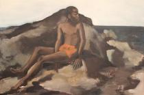 "Lynette Yiadom-Boakye, ""No Mind for Memory"", 2012 (oil on canvas)."