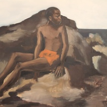 "Lynette Yiadom-Boakye, ""No Mind for Memory"", 2012 (oil on canvas)."